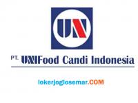 Loker Sragen PT Unifood Candi Indonesia Oktober 2020