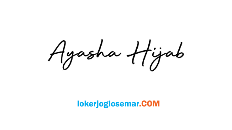 Lowongan Kerja Jogja Ayasha Hijab Oktober 2020