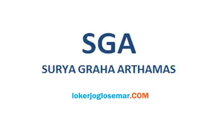 Lowongan Kerja Jogja Helper PT Surya Graha Arthamas