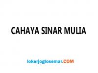Loker Bandung Surabaya Jakarta Cahaya Sinar Mulia