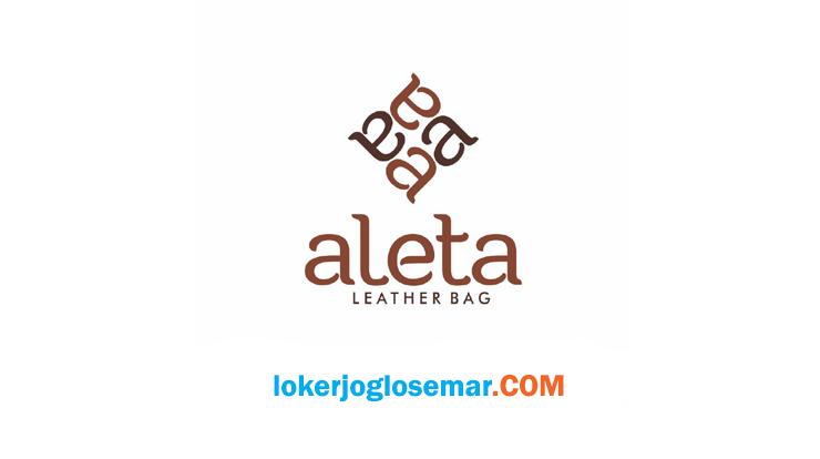 Loker Jogja Aleta Leather Lulusan SMA/SMK