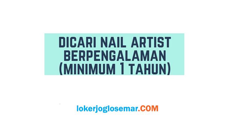 Loker Lulusan SMA/SMK Motive Nailart Studio Semarang