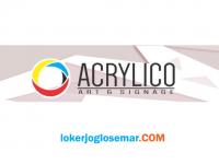 Loker November 2020 Acrylico Semarang