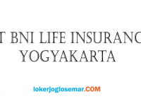 Loker November 2020 PT BNI Life Insurance Yogyakarta