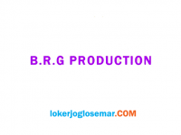 Loker Semarang November 2020 B.R.G Production