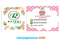 Loker Semarang Pramuniaga Lulusan SMA/SMK Rejeki Babyshop