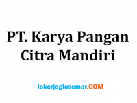 Loker Semarang Staf Teknisi Mekanikal PT Karya Pangan Citra Mandiri
