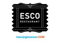 Lowongan Kerja Jogja Lulusan SMP ESCO Restaurant & No 27 Coffee