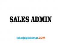 Lowongan Kerja Sales Admin Part Time/Full Time di Semarang