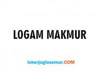 Lowongan Kerja Semarang Lulusan SMA/SMK Logam Makmur