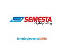 Lowongan Kerja Semarang Terbaru Semesta Digital Printing