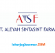 Loker Jogja PT Aleyah Sintasint Farma