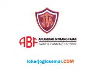 Loker Jawa Tengah dan Jawa Timur Februari 2021 di PT Pusat Warna Tekad Jaya