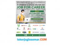 Webinar Online Job Fair 2021 Bersama Job For Career Solo