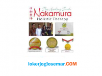 Loker Februari 2021 di Nakamura Holistic Therapy Cabang Seluruh Indonesia