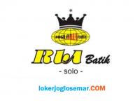 Lowongan Kerja Accounting Lulusan D3 S1 di Ria Batik Solo