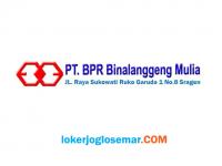 Lowongan Kerja Sragen Lulusan D3 di PT BPR Binalanggeng Mulia