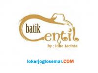 Loker Penjahit Profesional di Batik Centil by Idha Jacinta Solo