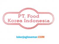 Lowongan Kerja Sleman di PT Food Korea Indonesia BORNGA