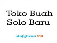 TOKO BUAH SOLO BARU